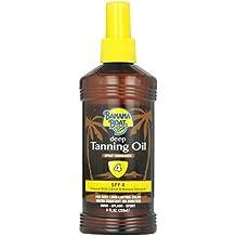 Banana Boat Dark Tanning Oil Spray SPF 4, 8 oz