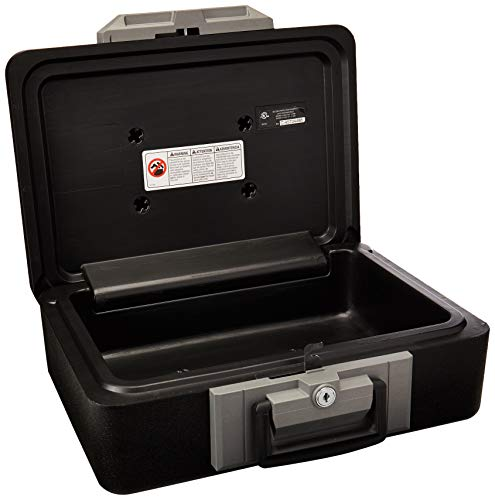 (SentrySafe Fire Safe, Fire Resistant Chest, 0.25 Cubic Feet, Small, 1160)