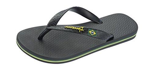 Ipanema Brazil II Womens Flip Flops - Sandals-BLACK-8/9