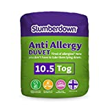 Slumberdown Anti Allergy 10.5 Tog Duvet, White, King Size