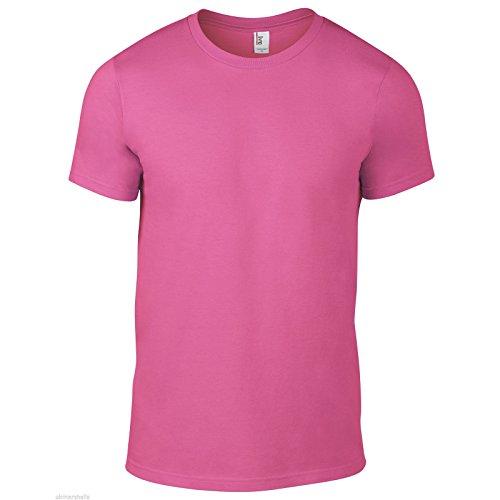 Anvil - Camiseta - para hombre rosa neón