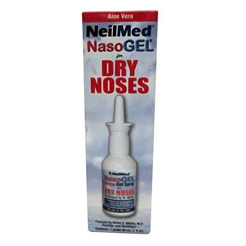 Neilmed Nasogel Drip Free Gel Spray 1 Oz (3 (Sinus Gel)
