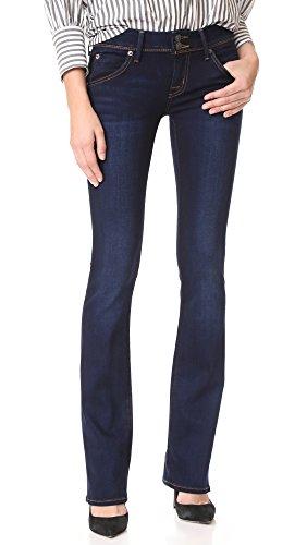Hudson Jeans Women's Beth Baby Bootcut Flap Pocket Elysian Denim Jeans, Oracle, 29