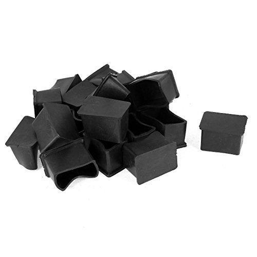 20 pièces en Caoutchouc 25mmx38mm Table Pied Housse de Protection meubles Caps Jambe - Housse De Protection