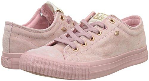 Sneaker Pink rose Knights Pink Lo Gold Donna soft British Master HTwtq4B