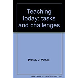 Teaching today: tasks and challenges