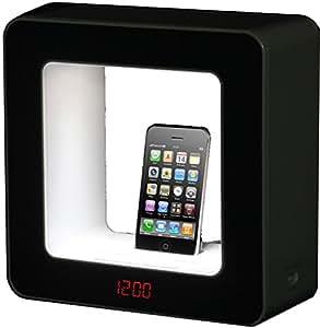 TEAC SR-LUXI - Altavoces (3,5 mm, iPhone, iPod, Corriente alterna, Negro, Digital, 244 x 104 x 244 mm)