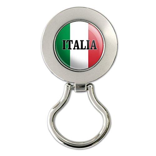 Italia Italy Italian Flag Magnetic Metal Eyeglass ID Badge - Eyeglasses Italia