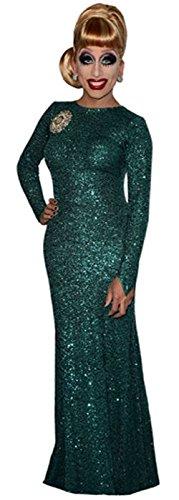 Bianca Del Rio (Green Dress) Life Size Cutout Celebrity Cutouts