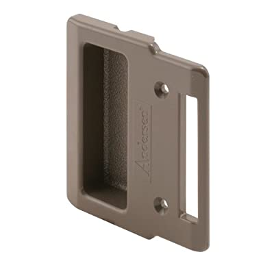 Prime-Line Products 123709 Sliding Screen Door Pull, Stone, Andersen