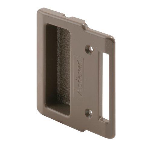 Prime-Line Products 123709 Sliding Screen Door Pull, Stone, Andersen (Patio Handle Door Andersen Replacement Screen)