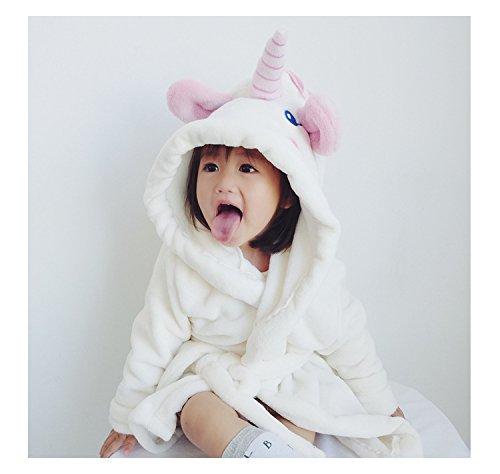 Misslight Bebé Unicornio Albornoces Albornoz Para Niños toalla con capucha de la de felpa batas: Amazon.es: Ropa y accesorios