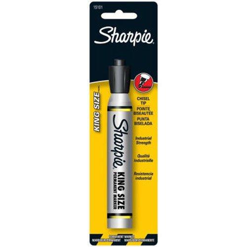 (Sharpie Pro King Size Permanent Marker, Black (15101PP))