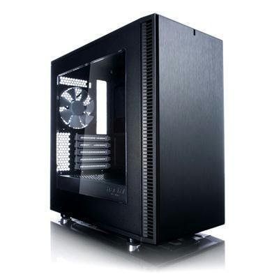 Fractal Design MicroATX Case with Window (FD-CA-DEF-MINI-C-BK-W) by Fractal Design