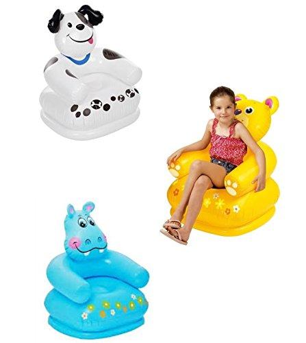 RIANZ Intex - Silla Hinchable para niños, Color y diseño Puede ...