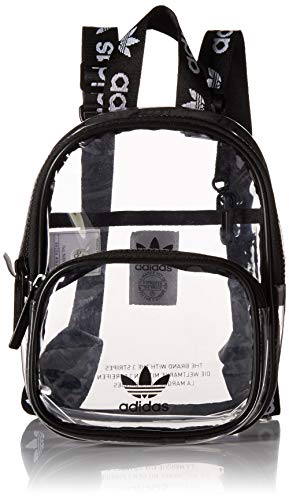adidas Originals Originals Clear Mini Backpack, Black, One Size