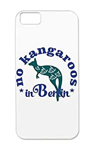 TPU Navy Berlin Cities Countries No Kangaroos In Fun Germany Funny Joke City Travel Kangaroo Protective Case For Iphone 5c Tearproof