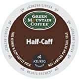 Green Mountain Coffee Half-Caff, Regular/Med Roast K-Cup Portion Pack for Keurig K-Cup Brewers, 24-Count