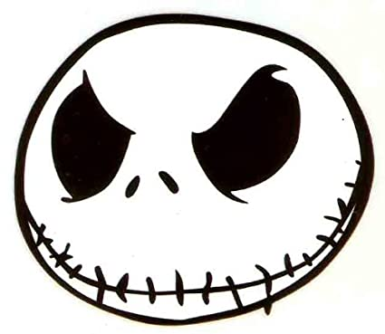 325 x 3 inch jack skellington nightmare before christmas halloween skeleton disney glitter iron on heat