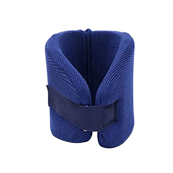 El collarín SUPVOX protege el collarín cervical médico soporte de soporte para la tensión del cuello, hombro, talla m… 2