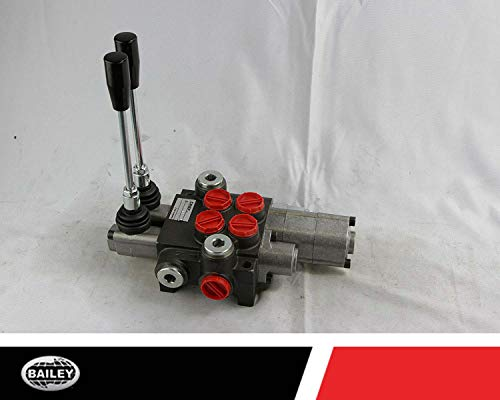 Chief P40 G Series Directional Control Valve Loader: 2 Spool, 3 Position Spring Center and 4 Position Float, 10 GPM, 3625 PSI, SAE #10 Inlet and Outlet, SAE #8 Work Ports, 220956 by Chief (Image #5)