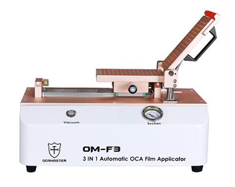 OM-F3 OCA/Polarizer Film Laminating Applicator Machine,Training)