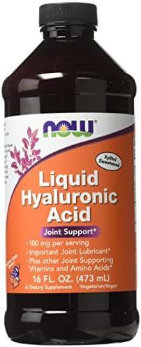 Now Foods Liquid Hyaluronic Acid 100 Milligrams, 16 Ounces