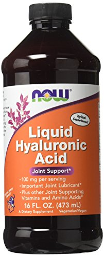 Now Foods Liquid Hyaluronic Acid 100 Milligrams, 16 Ounces