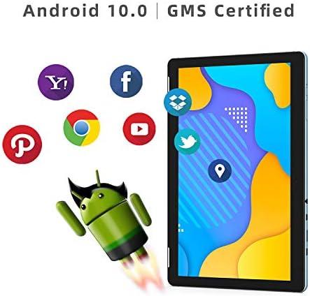Tablet 10 Inch Android 10.0 – WINNOVO TS10 Quad Core Processor 2GB RAM 32GB ROM HD IPS Display 8MP Rear Camera WiFi GPS FM Google Verified (Blue) 41iBbl5yOQL