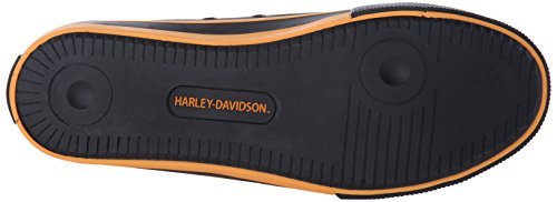 Davidson Shoe Zia Harley Vulcanized Women's orange Black 0cUnqgB