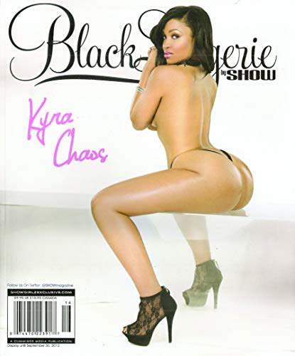 (Black Lingerie by Show Magazine. Kyra Chaos. #16. 2012.)
