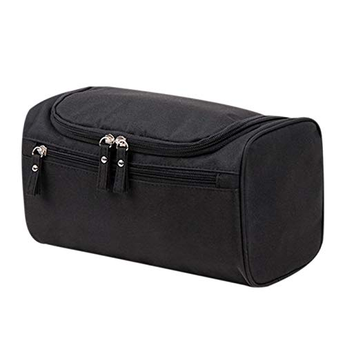 (Makeup Travel Case - 3 Style Women Men Large Waterproof Makeup Bag Nylon Travel Cosmetic Organizer Case Necessaries Make - Small Pouches Leather Thin Case Nurse Bucket Stand Hook Zippered Kids)