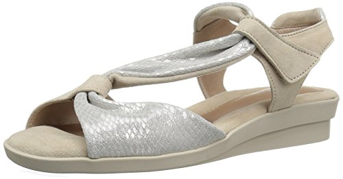 Beautifeel Women's Hailey Dress Sandal, Silver, 37 EU/6-6.5 M US