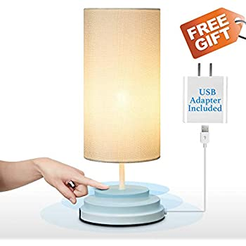 Keymit Touch Bedside Lamp Fully Dimmable Low Voltage