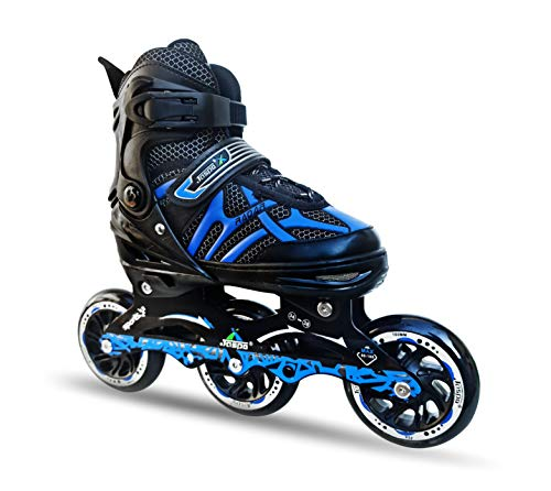 JASPO Radar Hydra-MAX Adjustable Inline Shoe Skates for All Age Groups
