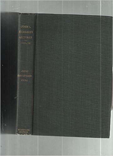 Ebook deutsch téléchargement gratuit John L. Stoddard's Lectures Supplementary Volume Number Three B000K0P65Y (French Edition) PDF FB2 iBook