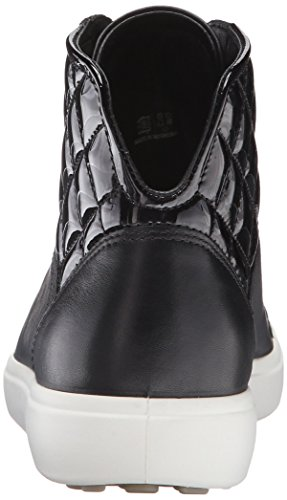 Baskets Noir Powder58658 Basses 7 Black Soft Ecco Femme avqTxSqw