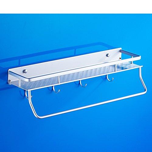 cosmetic corner brackets/ space aluminium towel rail/Thickened bathroom racks and suction cup bathroom accessories/[Cosmetics pod]-C