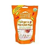 yummy earth chili - 2 Packs of Yummy Earth Organic Hot Chili Lollipops - 3 Oz - Case Of 6