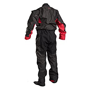 Gul DARTMOUTH Eclip Breathable Drysuit & Undersuit 2018 - Black/Red