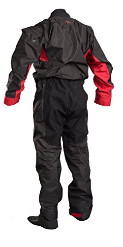 Gul DARTMOUTH Eclip Breathable Drysuit & Undersuit 2018 - Black/Red XL