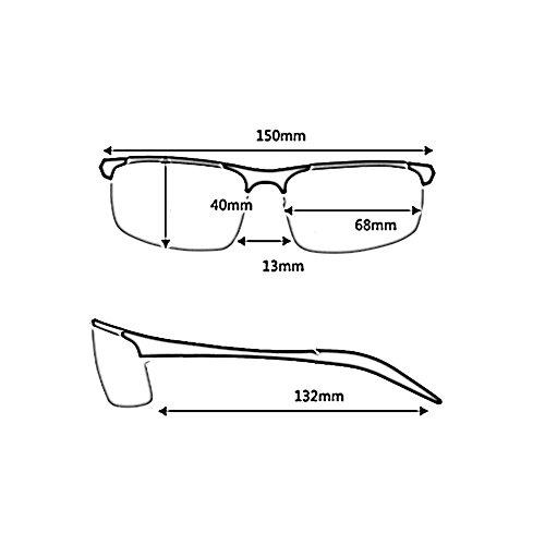 3 YQ De De Aire Gafas QY Gafas 4 Sol Gafas De De Aviación Conducción Gafas Al Color Polarizadas Sol Libre rqH1E