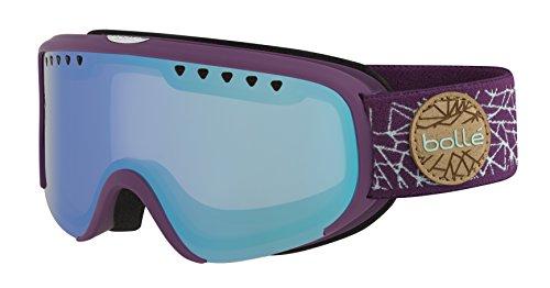 Bolle Scarlett Matte Diamond Aurora Googles, Purple/Mint, One - Bolle Scarlett Goggles