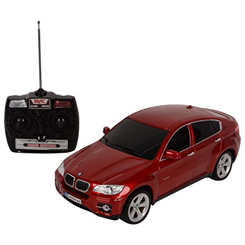 Costzon New 1/14 BMW X6 Licensed Electric Radio Remote Control RC Car w/Lights Red