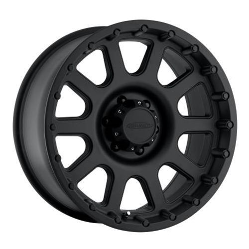 "Pro Comp Alloys Series 32 Wheel with Flat Black Finish (20x9""/8x6.5)"