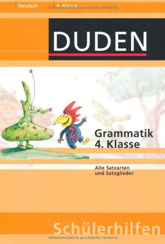 Grammatik 4. Klasse: Alle Satzarten und Satzglieder