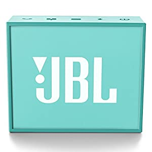 JBL GO Portable Bluetooth Speaker (Teal) w/ Rechargeable Battery and Built in Strap Hook