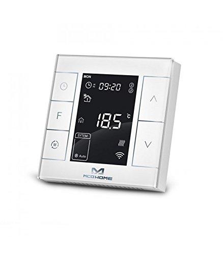 Termostato para radiador eléctrico Z-Wave + - MCO Home: Amazon.es: Bricolaje y herramientas