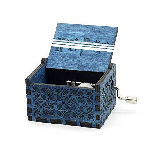 VDV Music Box - Hand Crank Davy Jones Beauty and The Beast Music Box Music Island Princess Game of Thrones Star -