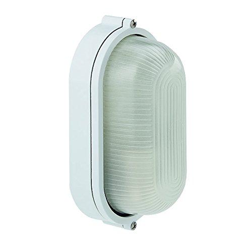 Saunalampe, Wandleuchte für Außenbereich oder Sauna WelaSol® - Weiß oder Schwarz
